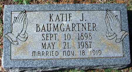 BAUMGARTNER, KATIE J - Franklin County, Arkansas | KATIE J BAUMGARTNER - Arkansas Gravestone Photos