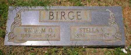 BIRGE, WILLIAM OLIVER - Franklin County, Arkansas | WILLIAM OLIVER BIRGE - Arkansas Gravestone Photos