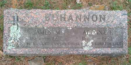 BOHANNON, JAMES M - Franklin County, Arkansas | JAMES M BOHANNON - Arkansas Gravestone Photos