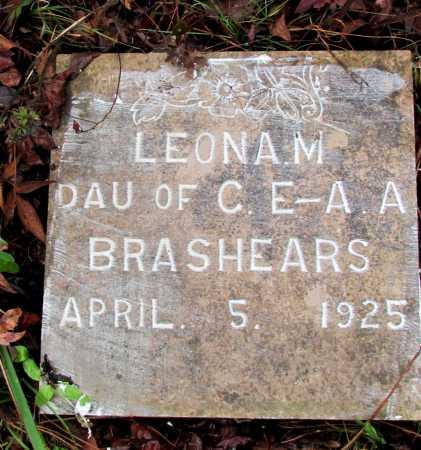 BRASHEARS, LEONA M - Franklin County, Arkansas | LEONA M BRASHEARS - Arkansas Gravestone Photos