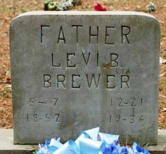 BREWER, LEVI B - Franklin County, Arkansas | LEVI B BREWER - Arkansas Gravestone Photos
