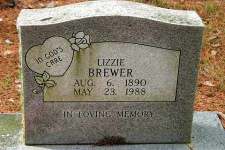 BREWER, LIZZIE - Franklin County, Arkansas | LIZZIE BREWER - Arkansas Gravestone Photos