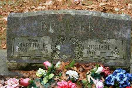 BREWER, MARTHA E - Franklin County, Arkansas | MARTHA E BREWER - Arkansas Gravestone Photos