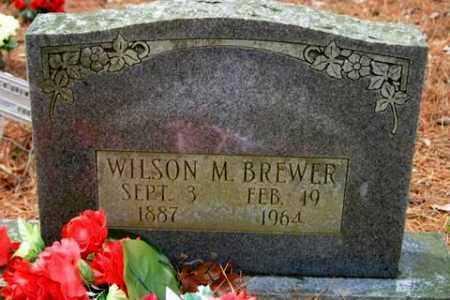 BREWER, WILSON M - Franklin County, Arkansas | WILSON M BREWER - Arkansas Gravestone Photos