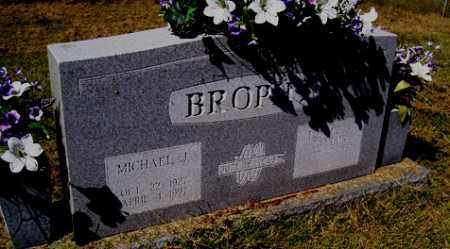 BROPHY, MICHAEL JOSEPH - Franklin County, Arkansas | MICHAEL JOSEPH BROPHY - Arkansas Gravestone Photos