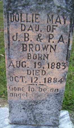 BROWN, DOLLIE MAY - Franklin County, Arkansas | DOLLIE MAY BROWN - Arkansas Gravestone Photos
