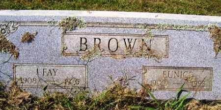 BROWN, FAY - Franklin County, Arkansas | FAY BROWN - Arkansas Gravestone Photos