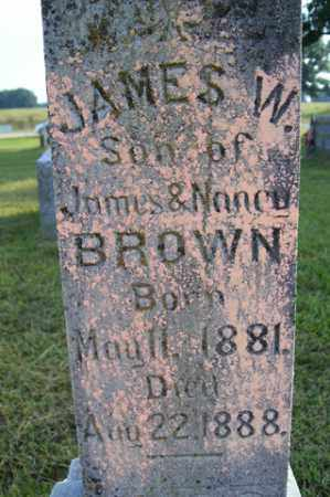 BROWN, JAMES W - Franklin County, Arkansas | JAMES W BROWN - Arkansas Gravestone Photos