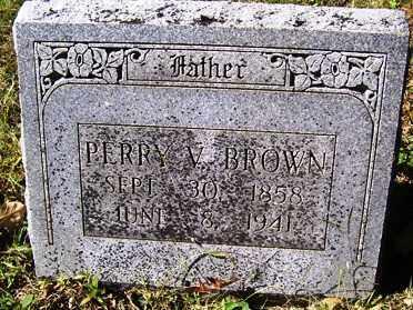BROWN, PERRY - Franklin County, Arkansas | PERRY BROWN - Arkansas Gravestone Photos