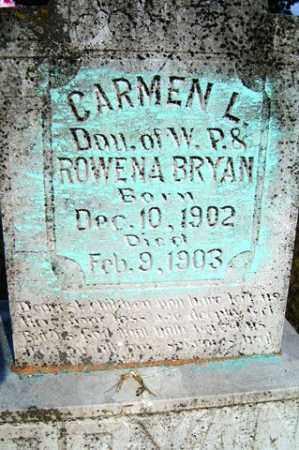 BRYAN, CARMEN L. - Franklin County, Arkansas | CARMEN L. BRYAN - Arkansas Gravestone Photos
