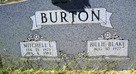 BURTON, MITCHELL L. - Franklin County, Arkansas | MITCHELL L. BURTON - Arkansas Gravestone Photos