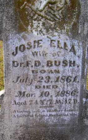 BUSH, JOSIE ELLA - Franklin County, Arkansas | JOSIE ELLA BUSH - Arkansas Gravestone Photos