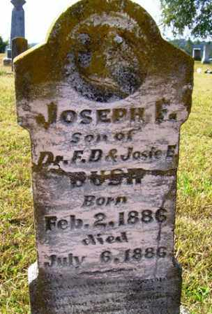 BUSH, JOSEPH F - Franklin County, Arkansas | JOSEPH F BUSH - Arkansas Gravestone Photos