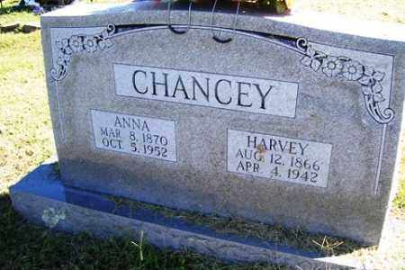 CHANCEY, HARVEY - Franklin County, Arkansas | HARVEY CHANCEY - Arkansas Gravestone Photos