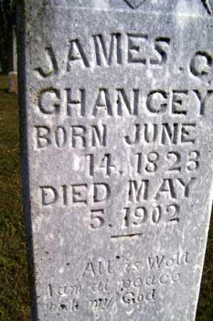 CHANCEY, JAMES C - Franklin County, Arkansas | JAMES C CHANCEY - Arkansas Gravestone Photos