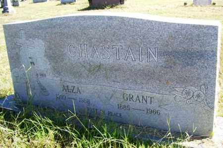 CHASTAIN, ALZA - Franklin County, Arkansas | ALZA CHASTAIN - Arkansas Gravestone Photos
