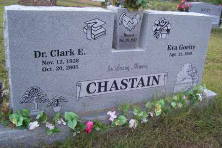 CHASTAIN, DR, CLARK E - Franklin County, Arkansas | CLARK E CHASTAIN, DR - Arkansas Gravestone Photos