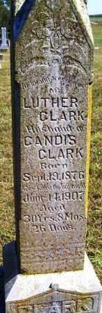 CLARK, LUTHER - Franklin County, Arkansas | LUTHER CLARK - Arkansas Gravestone Photos