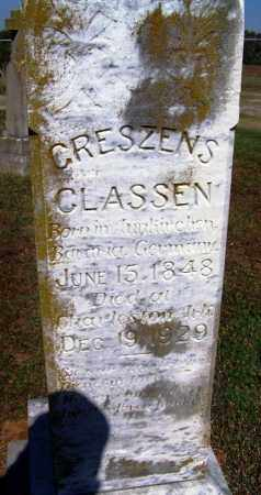 CLASSEN, CRESZENS - Franklin County, Arkansas | CRESZENS CLASSEN - Arkansas Gravestone Photos