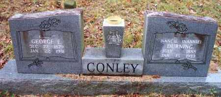 DURNING CONLEY, NANCIE [NANNIE] - Franklin County, Arkansas | NANCIE [NANNIE] DURNING CONLEY - Arkansas Gravestone Photos