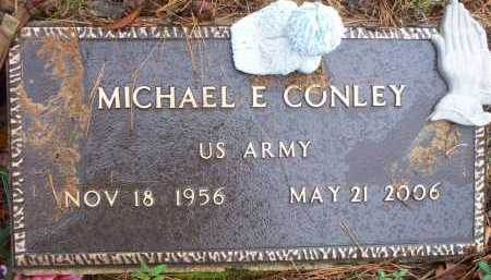 CONLEY (VETERAN), MICHAEL E - Franklin County, Arkansas | MICHAEL E CONLEY (VETERAN) - Arkansas Gravestone Photos