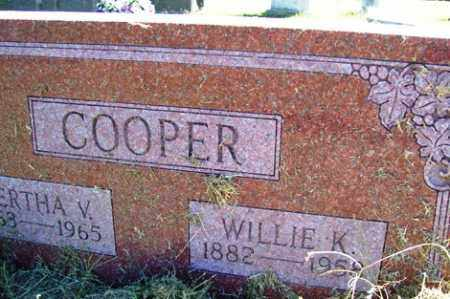COOPER, BERTHA V. - Franklin County, Arkansas | BERTHA V. COOPER - Arkansas Gravestone Photos