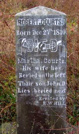 COURTS, ROBERT - Franklin County, Arkansas | ROBERT COURTS - Arkansas Gravestone Photos