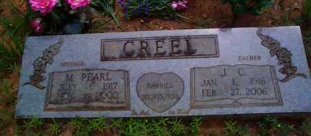 CREEL, M  PEARL - Franklin County, Arkansas | M  PEARL CREEL - Arkansas Gravestone Photos