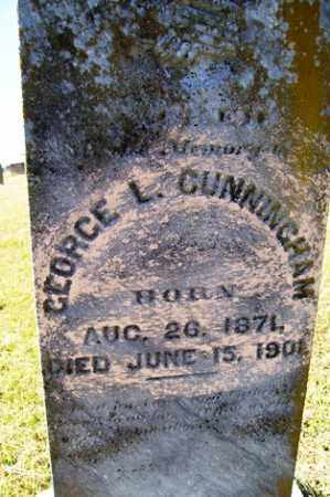 CUNNINGHAM, GEORGE L - Franklin County, Arkansas | GEORGE L CUNNINGHAM - Arkansas Gravestone Photos