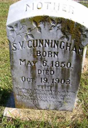 CUNNINGHAM, S. V. - Franklin County, Arkansas | S. V. CUNNINGHAM - Arkansas Gravestone Photos