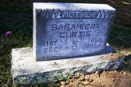 COX CURTIS, SARAH MALINDA - Franklin County, Arkansas | SARAH MALINDA COX CURTIS - Arkansas Gravestone Photos