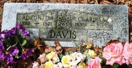 DAVIS, ADRON C - Franklin County, Arkansas | ADRON C DAVIS - Arkansas Gravestone Photos