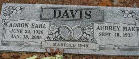 DAVIS, ADRON EARL - Franklin County, Arkansas | ADRON EARL DAVIS - Arkansas Gravestone Photos