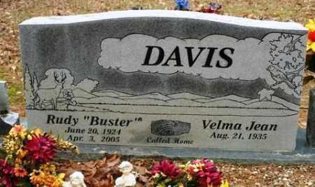 """DAVIS, RUDY """"BUSTER"""" - Franklin County, Arkansas   RUDY """"BUSTER"""" DAVIS - Arkansas Gravestone Photos"""