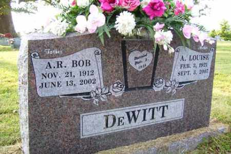 "DEWITT, A. R. ""BOB"" - Franklin County, Arkansas 