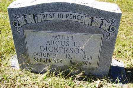 DICKERSON, ARGUS ELLSWORTH - Franklin County, Arkansas | ARGUS ELLSWORTH DICKERSON - Arkansas Gravestone Photos