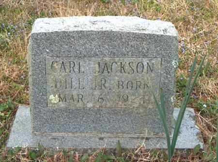 DILL, JR, CARL JACKSON - Franklin County, Arkansas | CARL JACKSON DILL, JR - Arkansas Gravestone Photos