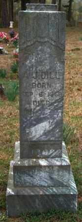 DILL, ANDREW JACKSON - Franklin County, Arkansas | ANDREW JACKSON DILL - Arkansas Gravestone Photos