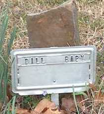 DILL, BABY - Franklin County, Arkansas | BABY DILL - Arkansas Gravestone Photos
