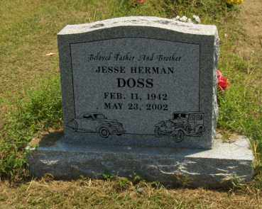 DOSS, JESSE HERMAN - Franklin County, Arkansas | JESSE HERMAN DOSS - Arkansas Gravestone Photos
