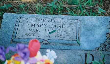 "OSBURN DOSS, MARY JANE ""MOLLY"" - Franklin County, Arkansas 
