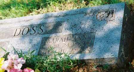 WAITE DOSS, SARAH ANN - Franklin County, Arkansas | SARAH ANN WAITE DOSS - Arkansas Gravestone Photos