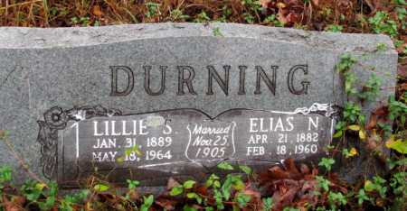 DURNING, ELIAS N - Franklin County, Arkansas | ELIAS N DURNING - Arkansas Gravestone Photos