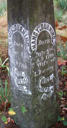 DURNING, NANCY - Franklin County, Arkansas | NANCY DURNING - Arkansas Gravestone Photos