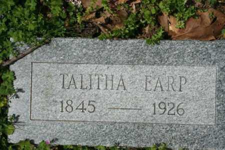 EARP, TALITHA - Franklin County, Arkansas | TALITHA EARP - Arkansas Gravestone Photos