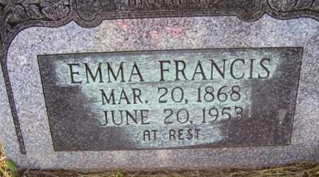 BRYAN EMMA, FRANCIS - Franklin County, Arkansas | FRANCIS BRYAN EMMA - Arkansas Gravestone Photos