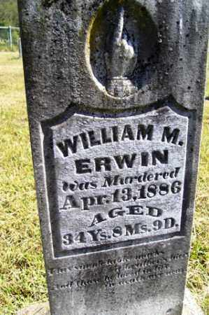 ERWIN, WILLIAM M. - Franklin County, Arkansas | WILLIAM M. ERWIN - Arkansas Gravestone Photos