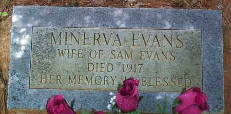 EVANS, MINERVA - Franklin County, Arkansas | MINERVA EVANS - Arkansas Gravestone Photos