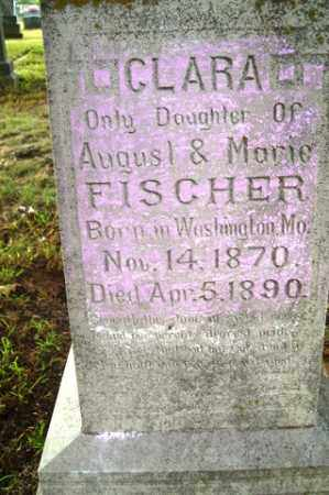 FISCHER, CLARA - Franklin County, Arkansas | CLARA FISCHER - Arkansas Gravestone Photos
