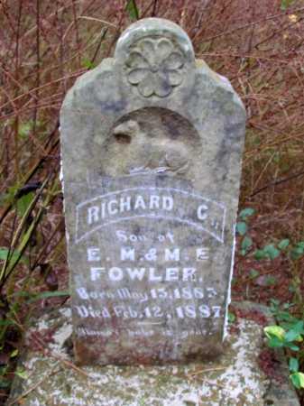 FOWLER, RICHARD C - Franklin County, Arkansas | RICHARD C FOWLER - Arkansas Gravestone Photos